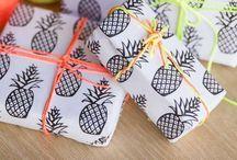 Birds & Bots | wrap it up / Inspiration to wrap presents