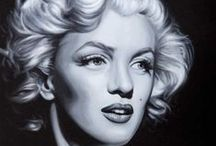 MOVIES - Marilyn Monroe / Photographs and paintings of sex symbol and legend of the silver screen Marilyn Monroe.