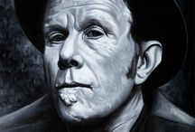 MUSIC - Tom Waits / Photographs and paintings of Tom Waits.