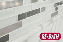 Re-Bath® Wall System Patterns / Wall surround and wainscoting pattern options