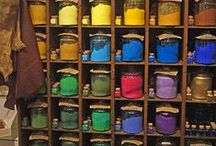 ART - Colour / Magical combinations of colour in art.