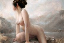 ART - Nude / Paintings and drawing of the nude figure.
