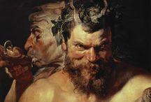 ART - Mythology / Paintings and sculpture based on mythological subjects.