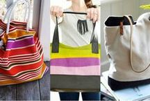 Tote, Bag, Purse, Pouch / DIY, Tutorials, Inspirations / by Helen Gullett