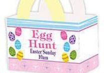 Easter Basket Ideas / The Easter Bunny just got personalization! / by Shindigz