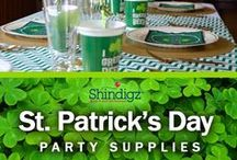 St. Patrick's Day Party / St. Patricks day only happens in March, but that doesn't mean you can't dream about the ultimate St. Paddy's day party all year round. Stay up to date on the latest inspiration for your Shamrock themed party! You'll find inspiration for kids and adults!