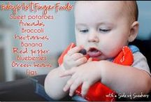 Baby Led Weaning / Baby led weaning and ideas for feeding baby solids.