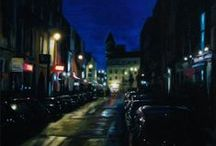 ART - Cityscape by Vincent Keeling / Cityscape paintings, mainly of his native Dublin, by artist Vincent Keeling.