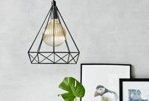 Geometric Lights / Brighten up your Home with Geometric Style!