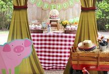 Barnyard Buddies Birthday Party / Our Barnyard Buddies Party Supplies will make celebrating their birthday down on the farm a good ole' time!
