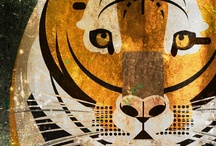 cultural connections- tigers / The more seasons we design, the more connections we see through the different cultures we've visited for inspiration. One obvious connection is the importance of tigers. Some cultures may not specifically celebrate tigers, but every country we have visited has some large cat that is important to their identity.  / by Tea Collection