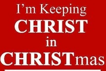 ✞C-H-R-I-S-T-mas / It's the most wonderful time of the year.. / by Breanna Pate