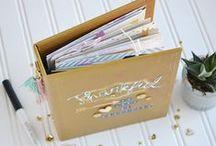 mini albums, books, & journals