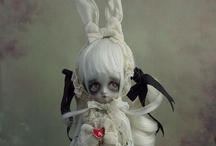 Dolls- Art, assemblage and sewn / by Punk Aspie Art