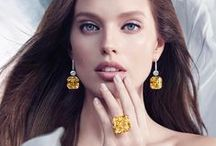 The Ultimate Element / The Ultimate Element Graff's new global advertising campaign reveals a collection of its rarest and most fabulous jewels in the world positioned as the 'Ultimate Element' and set over four striking images themed around nature's fundamental elements: Earth, Water, Air and Fire Discover more here: www.graffdiamonds.com Model: Emily DiDonato / by Graff Diamonds