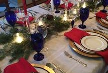 Tablescapes / Ideas and Tips For Creating Beautiful Tablescapes