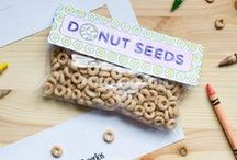 Kid Approved / DIY crafts for kids with their favorite finger-food Cheerios! Cheerios DIY for kids, Cheerios crafts, Cheerios kid projects