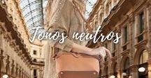 Combinaciones tonos neutros / looks de moda para hacer tus combinaciones y tips en colores neutros. para estar siempre con estilo. #casual #outfits #neutros #style