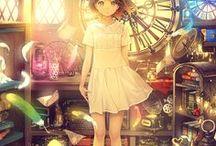 Anime - Manga Girls