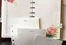 Journaling & Planners / Tools for planning and journaling your day.