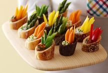 Appetizers / Party Food Ideas / by Anna Ispanki