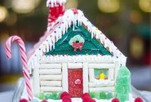 Gingerbread Houses / We are always looking for ideas for our annual gingerbread house decorating contest! / by Groovy Candies