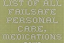 Personal Care / Health - Failsafe