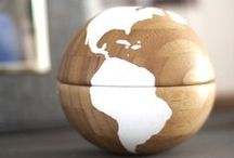 Maps and Globes Crafts / Transform maps and globes into these stunning travel inspired projects.