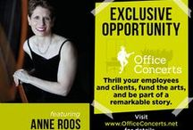 Anne Roos' Upcoming Events