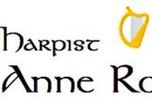 Connect With Anne Roos! / Find Harpist Anne Roos Online
