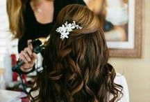 Wedding Hairstyles / Wedding hairstyles for the bride to be. Ideas and inspiration for long and short wedding hair / by EXO Photography