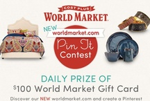 Worldmarket.com PIN IT Contest / by Annemarie Zito