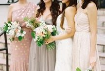 Bridesmaids Dresses / Color and dress ideas for your bridemaids / by EXO Photography