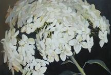 Flower Paintings by Kamille Saabre / Painting for modern living.