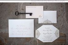 Invitations / Wedding invitation ideas and inspiration / by EXO Photography