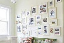 Decoració amb fotos / Recull d'idees per a decorar casa teva.