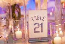 Table Numbers  / Table numbers ideas and inspiration for your wedding / by EXO Photography