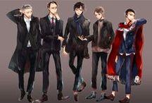 I Believe in Sherlock Holmes / BBC Sherlock, Benedict Cumberbatch, and Martin Freeman / by Kate ϟ