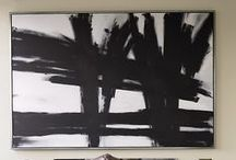 Art on walls / Paintings and murals as Home Decor
