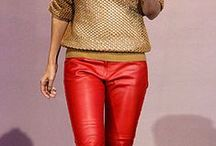 She Got that Style--Leather Pants / How to style/what to wear with leather pants