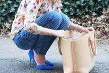 She Got that Style--Printed Pants / How to style/what to wear with printed pants (leopard pants, animal print pants, striped pants, floral pants, camo pants, polka dot pants) / by Robin Martin (Frannie Pantz)