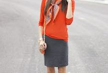 She Got that Style--Pencil Skirts / How to style/what to wear with pencil skirts