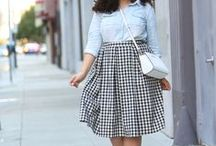 She Got that Style--Printed Skirts / How to style/what to wear with printed skirts (floral skirt, stripe skirt, camo skirt, leopard skirt, animal print skirt) / by Robin Martin (Frannie Pantz)