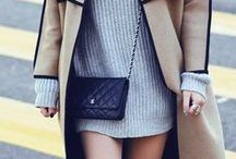 She Got that Style--Grey Dresses / How to style/what to wear with grey dresses