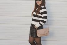 She Got that Style--Leather Skirts and Shorts / How to style/what to wear with leather skirts and leather shorts