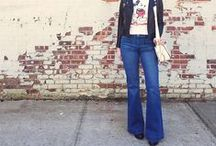 She Got That Style--Flared Jeans / How to style/what to wear with flared jeans