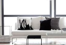 Black & White Interior / Black & White Interior, paintings and decore