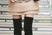 Over the knee boots - how to style