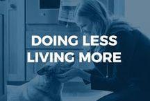 Doing Less, Living More.