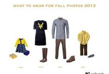 what to wear / Inspiration for planning your wardrobe before your session.